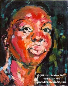 Nina Simone - Bruni Jazz Art