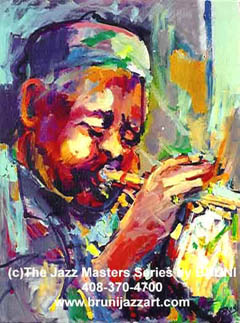 Dizzy Gillespie - Bruni Jazz Art
