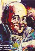 Michel Petrucciani by Bruni Sablan