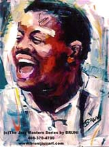 Oscar Peterson by Bruni Sablan