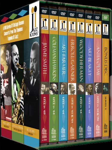 Jazz Icons Series4 - Box Set