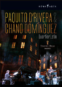 Paquito D'Rivera and Chano Dominguez